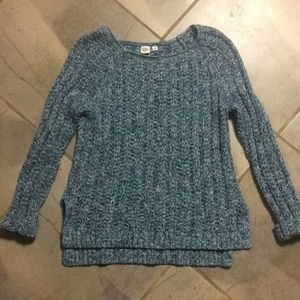 Gap | Blue Thick Knit Sweater